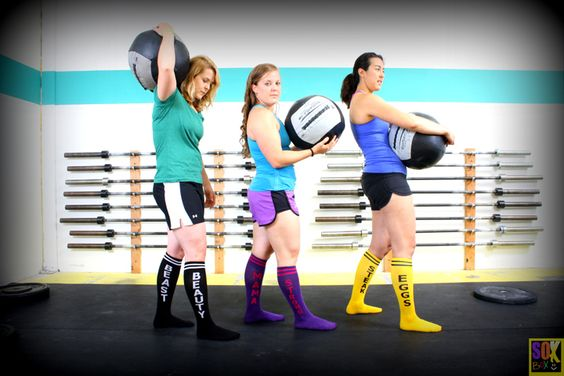 Beauty Beast, Strong Mama, Steak Eggs!  www.thesoxbox.com: Socks Crossfit, Knee High, Steak Eggs, Beast Strong, Beauty Beast, High Socks, Mama Steak