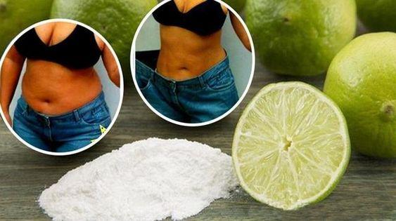 Agua De Limao E Bicarbonato De Sodio Para Queimar A Gordura Da