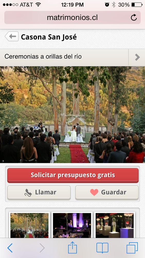 Casona las Vertientes- san Jose del Maipo Chile