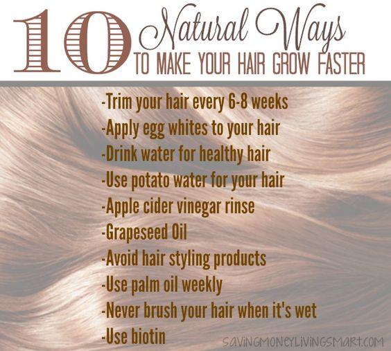 how to make hair grow