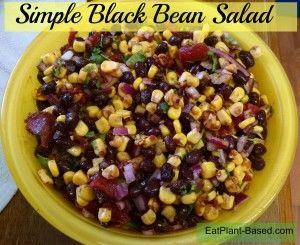 Simple Black Bean Salad