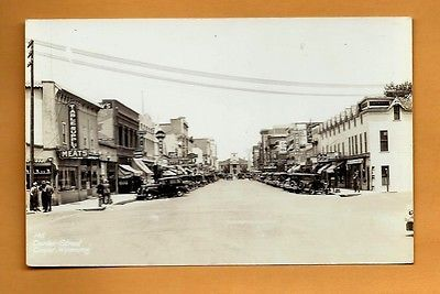 Center Street, Casper, Wyoming: looking to Courthouse