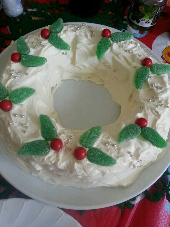 Christmas Wreath Cake Recipe
