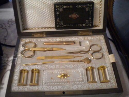 Tb coffret bo te couture accessoires p napoleon iii for Coffret couture avec accessoires