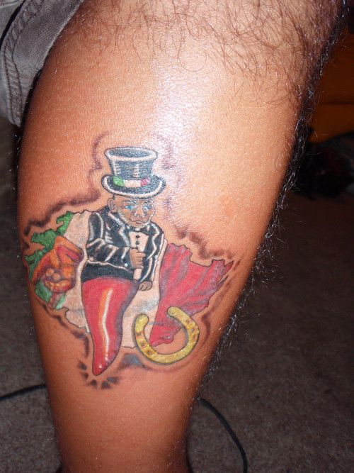 Italian corno gobbo tattoos pinterest italian good for Italian warrior tattoos