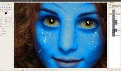 [AVATAR] Become a real Na'Vi using GIMP! — Tutorials — gimpusers.com