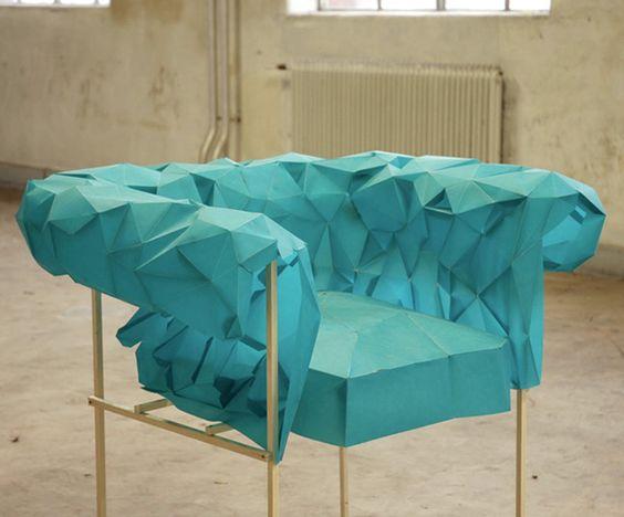 chesterfield armchair by christian fiebig