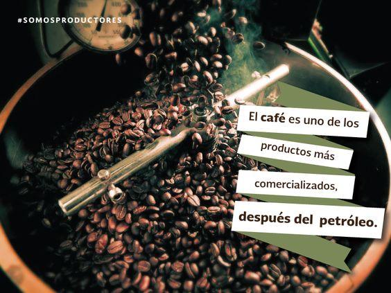 El café es uno de los productos más comercializados, después del petróleo. SAGARPA SAGARPAMX #SOMOSPRODUCTORES