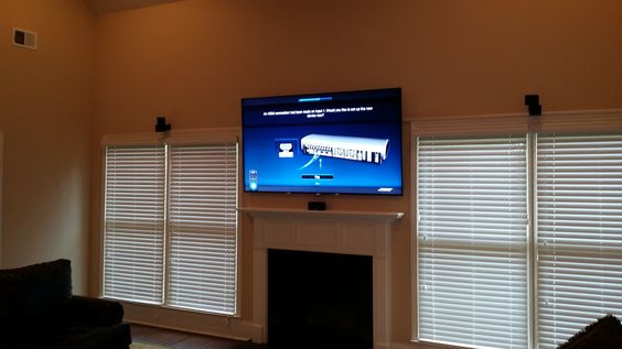 Surround Sound installation done by: http://wemounttvs.com