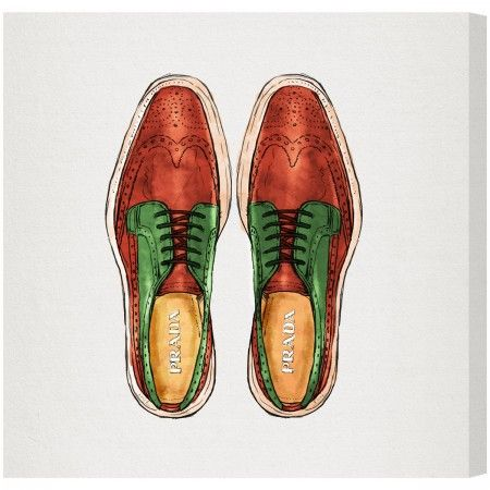His Wingtips — The Oliver Gal Artist Co.