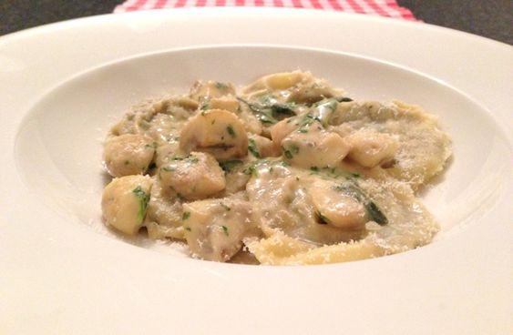 Ravioli met champignons - ravioli recepten — Alles Over Italiaans Eten