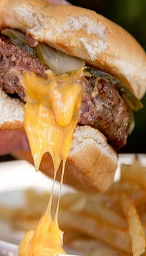 Juicy Lucy Burger (a.k.a. Jucy Lucy) Recipe ... These cheese-stuffed ...