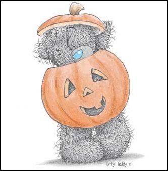 October Tatty Teddy:
