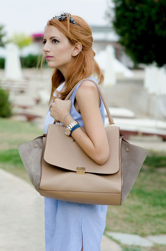 where to buy celine bags - Celine trapeze in taupe and grey suede | P U R S E S | Pinterest ...