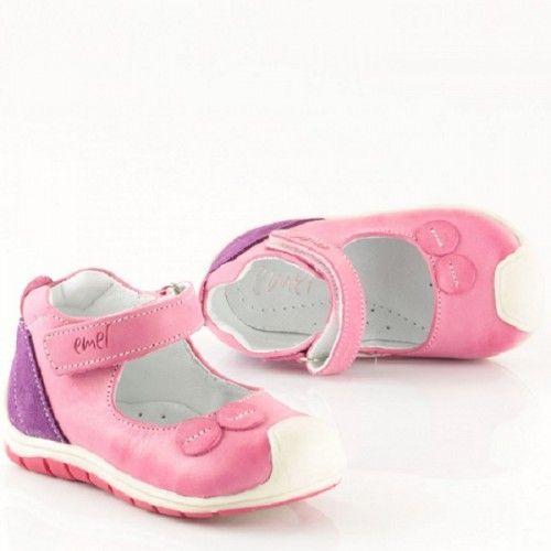 E2432 Roczki Dziewczece Balerinki Nad Kostke Na Rzep Rozowe Biale Fioletowe 2 Jpg Baby Shoes Shoes Fashion