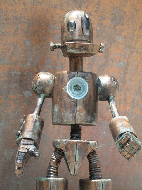 Tenacious Blog- covering art toys like it's our job: SDCC Preview: Titanium the Robot by Tony Montalvo