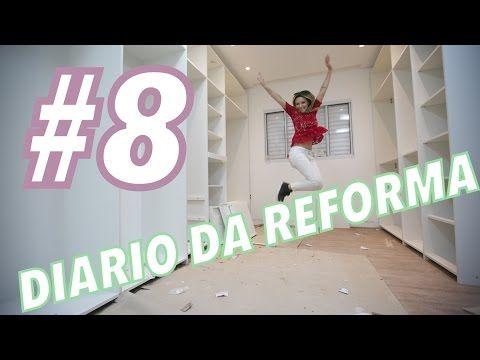 DIARIO DA REFORMA #8: MÓVEIS PRONTOS+ LUSTRES