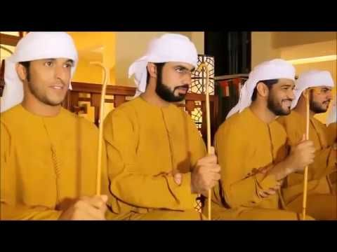 Awesome New Traditional Song From Uae فرقة بن قحطان الحربية درب