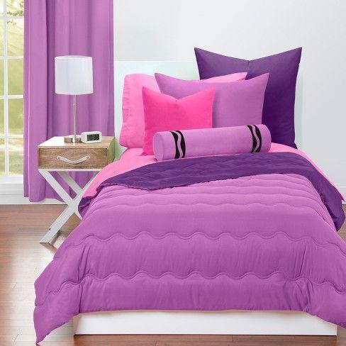 Crayola Vivid Violet And Royal Purple Comforter Target