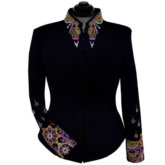 Gilded Purple Show Jacket