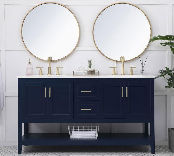 23+ 60 double bathroom vanity best