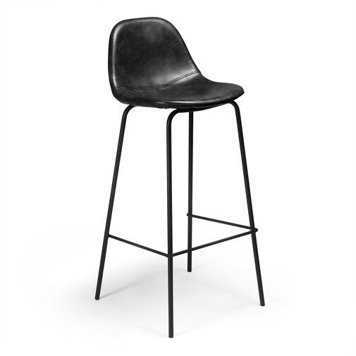Connor Bar Counter Stool Leather Counter Stools Counter