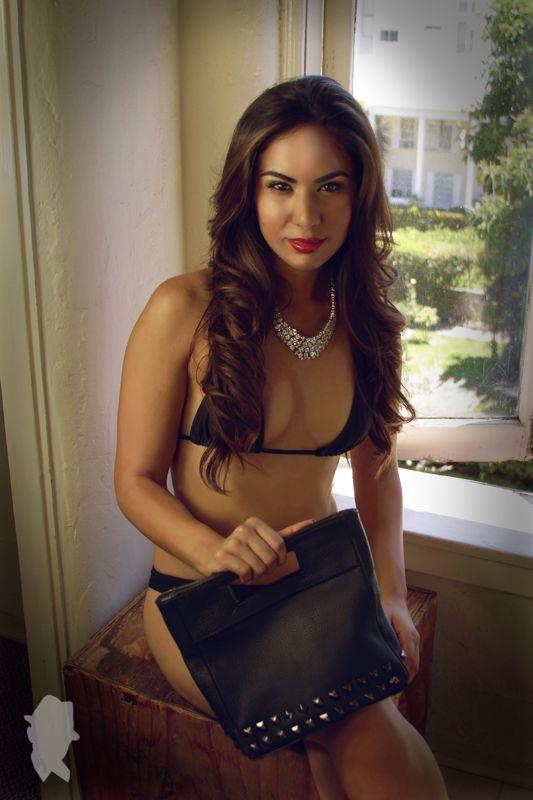 Signature Xavier Photographer Xavier Ybarra comes together with Los Angeles California Miss Latina Adriana Michelle Davalos for a bikini photo shoot.