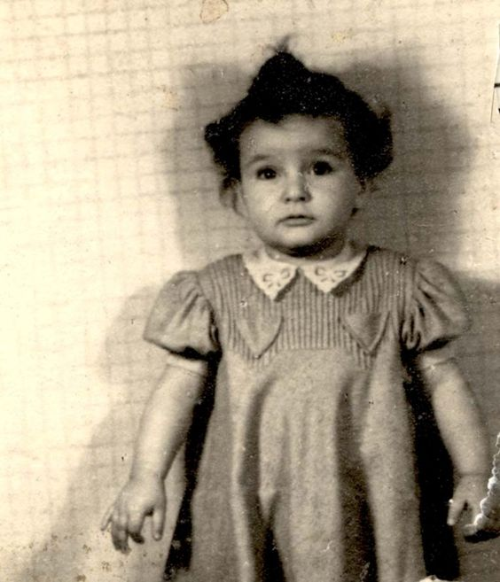 Katalin Havas age 2 was sadly murdered in Auschwitz in 1944
