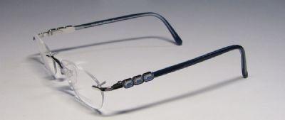 Daniel Swarovski S197 Eyeglasses Color 6050