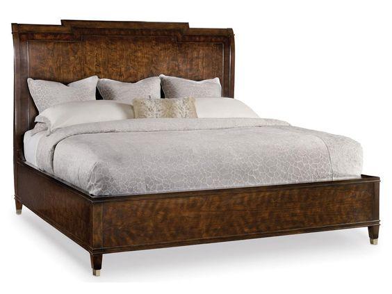 Вы искали стильную, утонченную и элегантную кровать? Кровать от производителя Hooker Furniture, из коллекции Skyline - это то, что Вам нужно! Прекрасное деревянное изголовье, аккуратные ножки, стильный дизайн.               Материал: Ткань.              Бренд: Hooker Furniture.              Стили: Скандинавский и минимализм.              Цвета: Коричневый, Темно-коричневый.