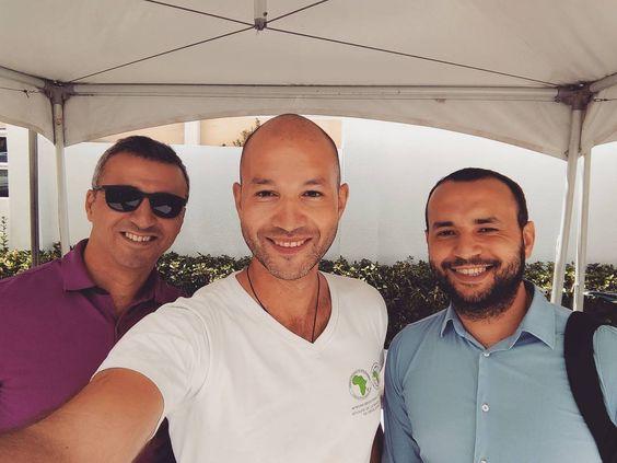 Super content de retrouver mes frères @be_chamsou  et @SofianeChaib ce matin à #Alger pour découvrir le chantier de ce qui sera peut être l'un des plus beaux hubs pour les jeunes au coeur d'#Alger :) Bravo les amis ;) #Algeria #Entrepreneurs #InshaAllah