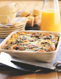 Sausage, Egg, And Vegetable Casserole