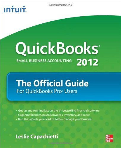 http://qbpos.digimkts.com   Used by 90% of most US small businesses.   Call today: 844-903-1850  QuickBooks 2012 The Official Guide (Quick Guides) by Leslie Capachietti. $17.49. Edition - 1. Publisher: McGraw-Hill Osborne Media; 1 edition (October 19, 2011). Author: Leslie Capachietti. Publication: October 19, 2011. Save 42% Off!