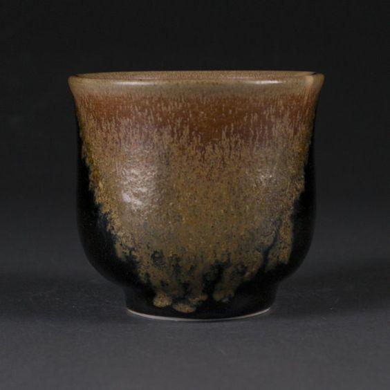 Porcelain Yunomi tea cup by GuerreroCeramics on Etsy