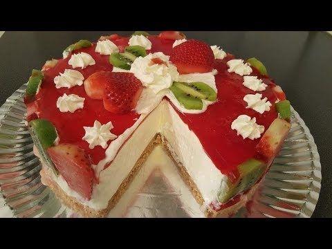 التشيز كيك باسهل طريقة بدون بيض وبدون فرن مع شام الاصيل Youtube Dessert Recipes Desserts Sweets