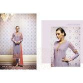 Diy kurta design. Colours! Purple And Red Suit