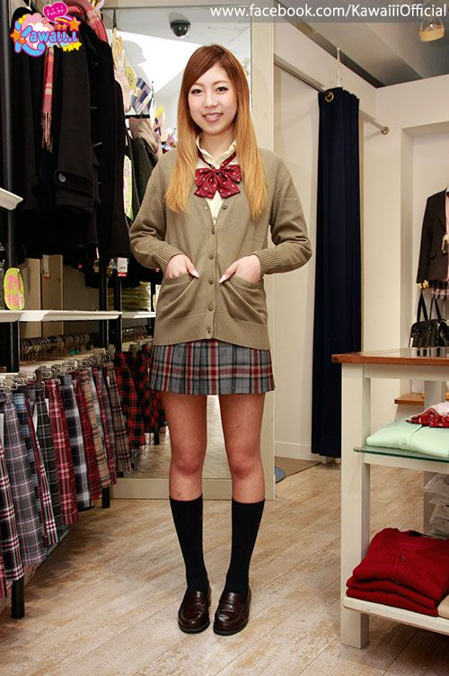 Cute schoolgirl fashions from CONOMi.