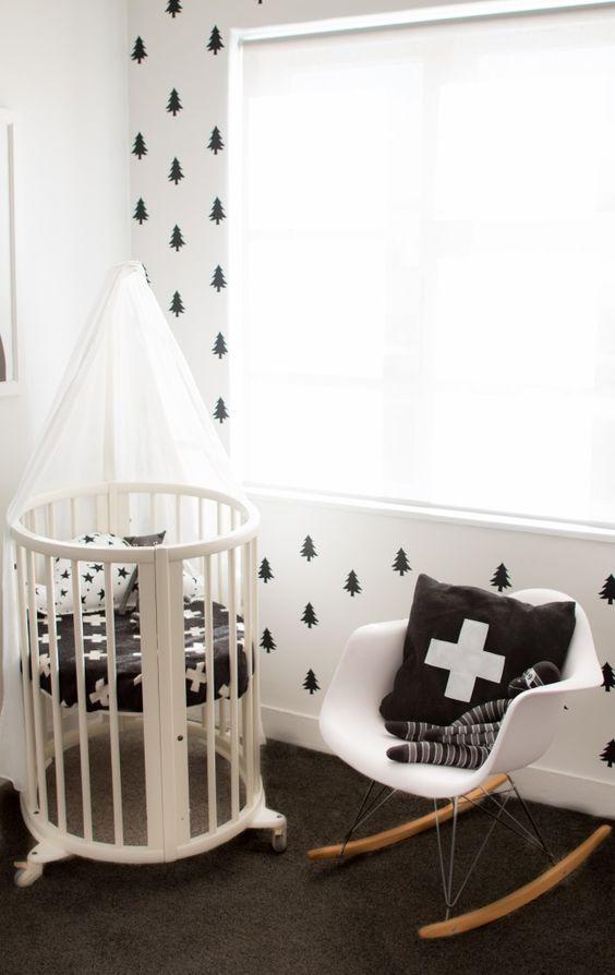 black and white nursery baby nursery nursery furniture cool coolest