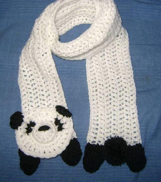 Crochet Hair Dues : Original Bufanda Infantil