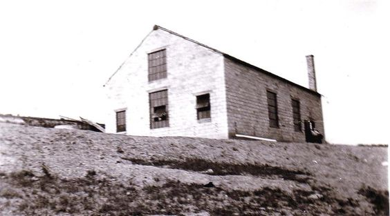 The old railroad pump house