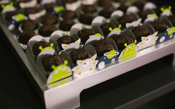 Veja fotos do cardápio servido na festa de extraterrestres - Fazendo a Festa - GNT