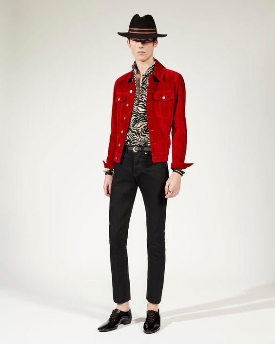 ソングスでキムタクが着ていたジージャンジャケット(スエードデニム), モデル2の写真