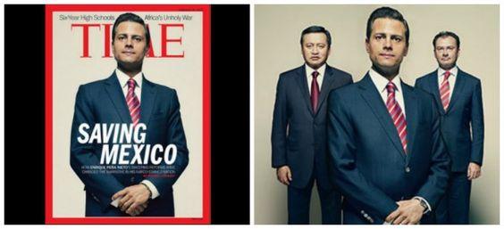 """Peña Nieto, """"salvando a México""""… dice portada de la revista 'TIME', este es el cartel más peligroso del país"""