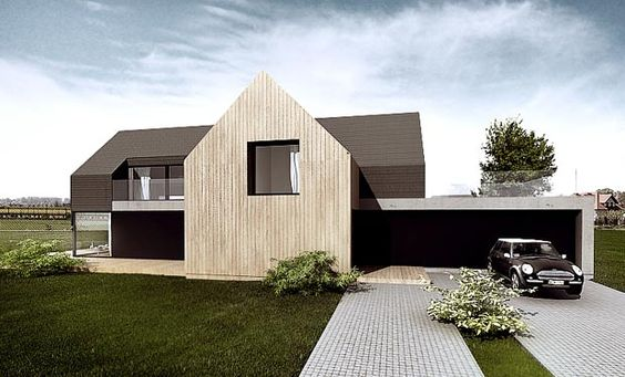 tamizo architects group. p-house single family house piotrkow trybunalski