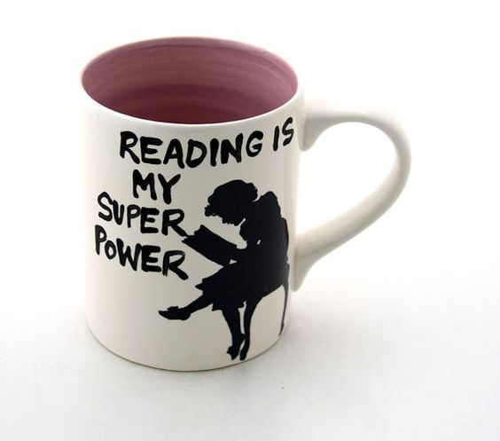 Reading is my super power. #stuff4writers #books *