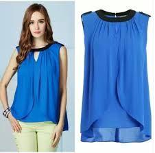 Image result for ladies modern summer blouses