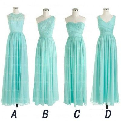 long bridesmaid dresses, mismatched bridesmaid dress, cheap bridesmaid dress…