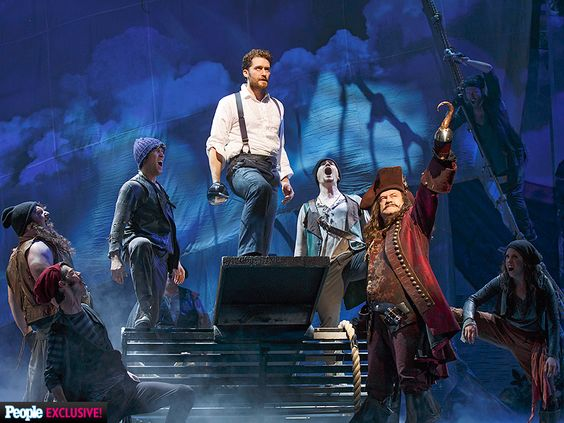 PHOTOS: Matthew Morrison and Kelsey Grammer in Broadway's Finding Neverland http://www.people.com/article/matthew-morrison-kelsey-grammer-finding-neverland