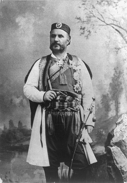 King Nichola I of Montenegro, 1909