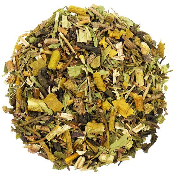Het thee effect | SIP BACK & RELAX | Een biologische groene thee met valeriaanwortel, maretak en sint-janskruid. #tea #thee #infusie #lossethee #hettheeeffect